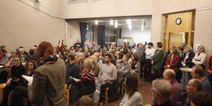 Der Versammlungsraum des Kreuzer platzte fast aus allen Nähten, so groß war das Interesse des Menschen bei der Integrationskonferenz im Stadtbezirk IV.